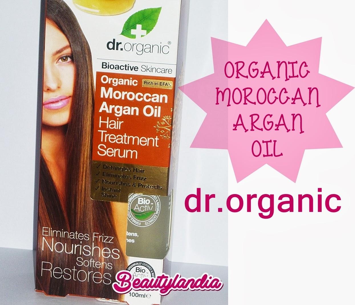 ORGANIC MOROCCAN OIL HAIR TREATMENT SERUM