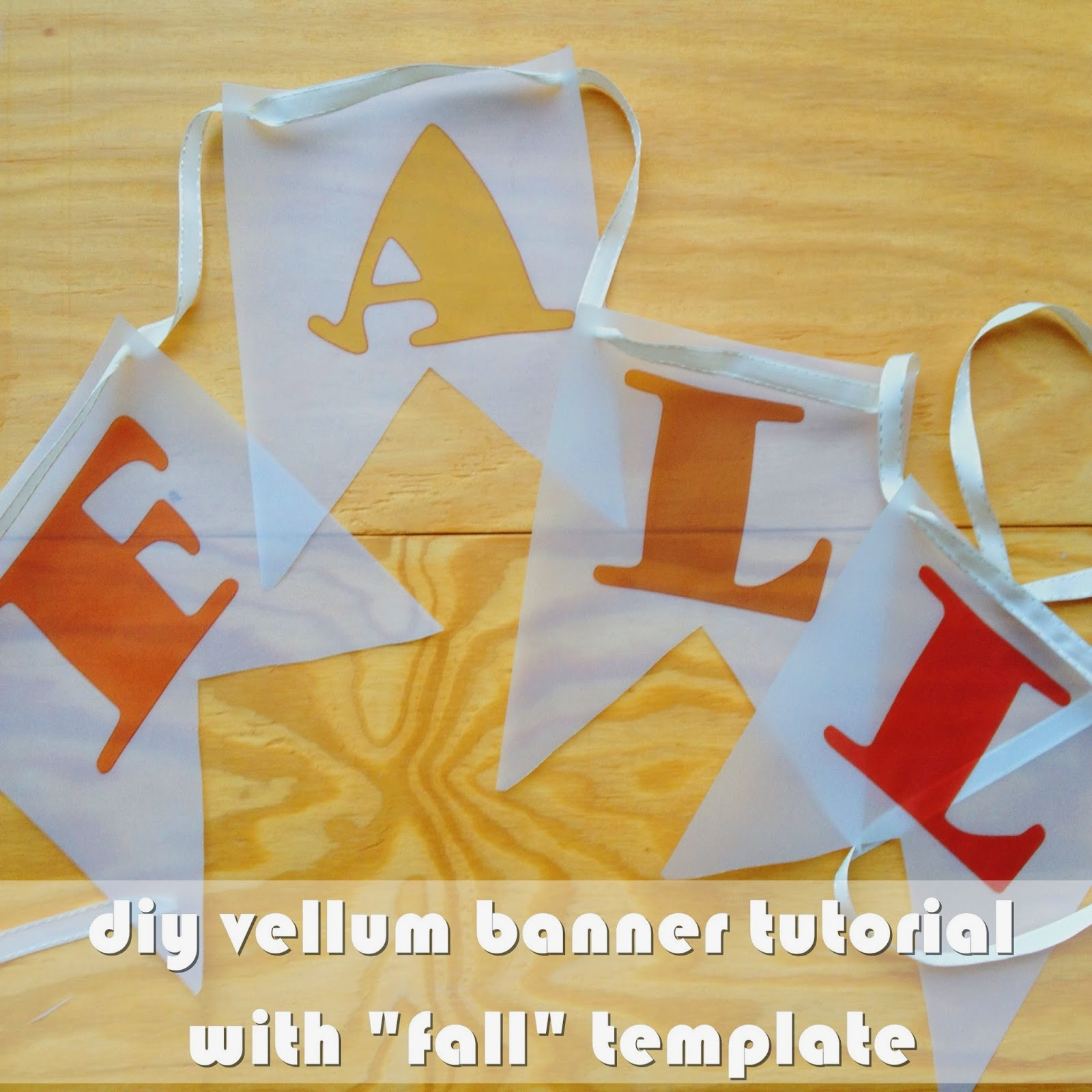 graphic relating to Fall Banner Printable titled Allows Consume Espresso, Darling: Do-it-yourself Vellum \