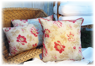 #antiquefrench #Frenchpillows #antique fabric #French home