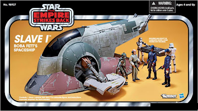 Hasbro Star Wars Vintage Collection Slave-1 vehicle - exclusive