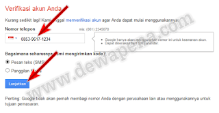 Cara membuat email gmail baru