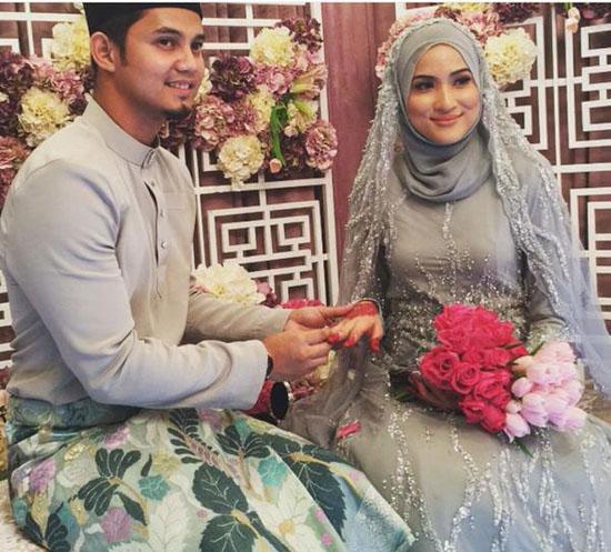 Gambar Pernikahan Hanis Zalikha - Hairul Azreen