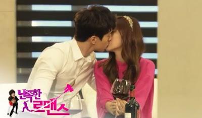 Jessica SNSD Romantic Kiss dengan Lee Dongwook 'Wild Romance'