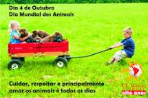 04/10 - DIA MUNDIAL DOS ANIMAIS