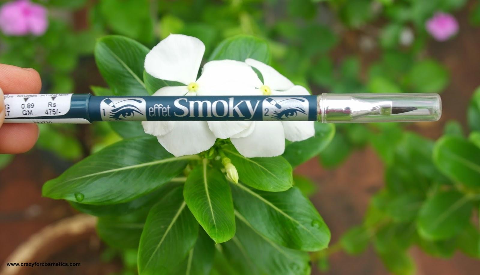 Bourjois Smoky Effect Eyeliner 73 Deep green swatch