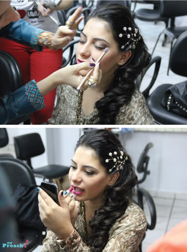 Alessandra faria maquieagem - penteado cabelo de noiva