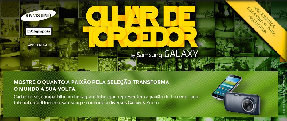 Mostre a paixão do torcedor pelo futebol e concorra a 30 Galaxy K Zoom