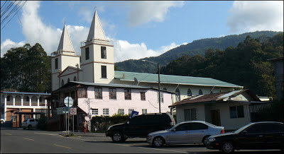 church in boquete