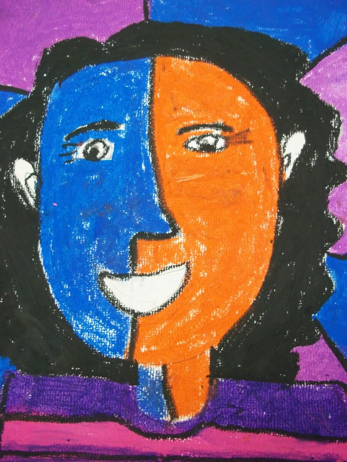 art kids of benavidez elementary  self-portraits