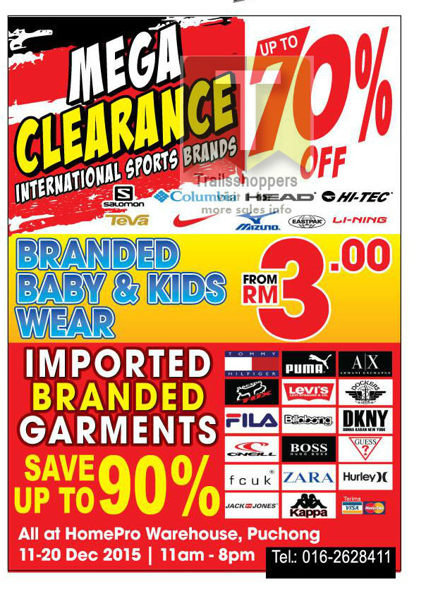 Branded Mega Clearance Fashion Sports Baby 2015 Puchong
