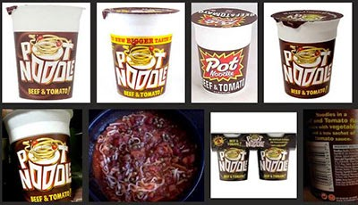 the flying pot noodle