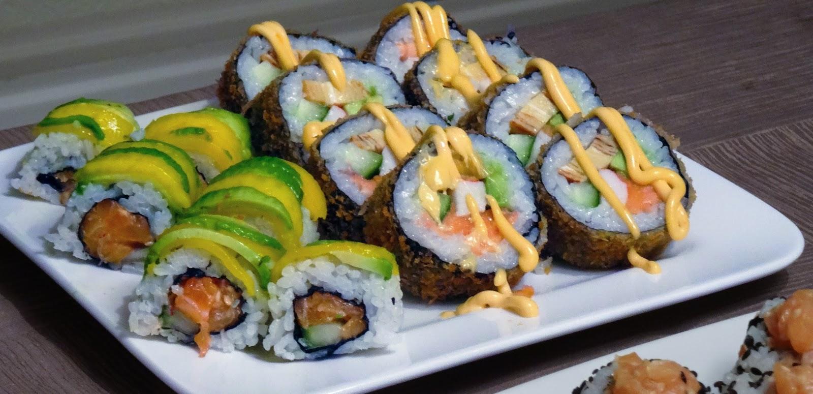 recept sushi