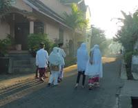 Pahala berjalan menuju masjid