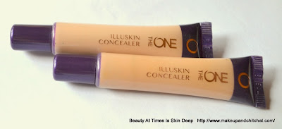 Oriflame the ONE Illuskin Concealer in Fair Light and Nude Beige