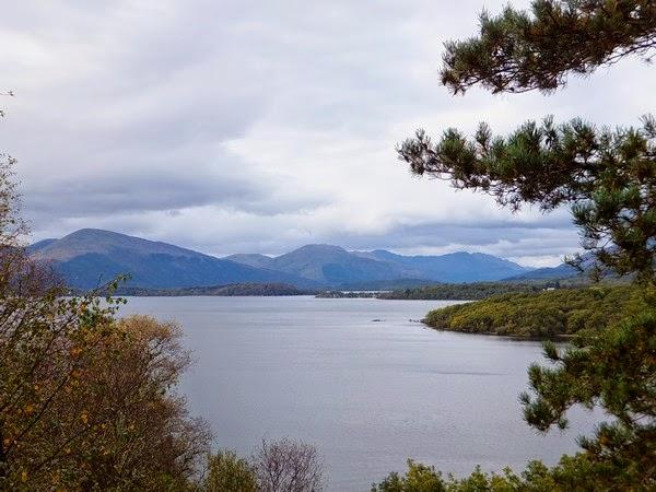 écosse scotland highlands loch lomond balmaha