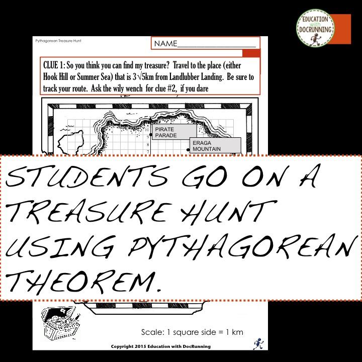 Math Mondays Pythagoras Pirates – Pythagorean Theorem Worksheet Doc