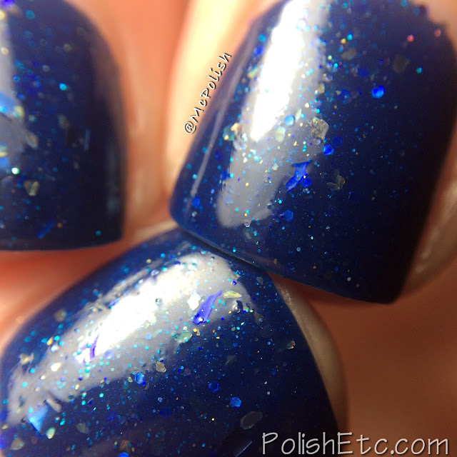 The First Gift of Christmas Collaboration Box - Frenzy Polish - McPolish - To the North Pole, Of Course
