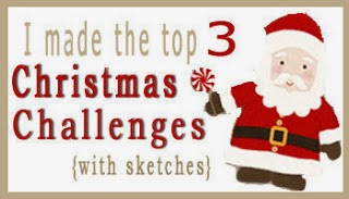 Januar 2014 bei Christmas Challenges with Sketches