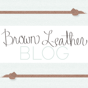 Brown Leather Blog