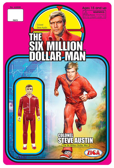 "Zica 3.75"" Six Million Dollar Man Col Steve Austin Figure"