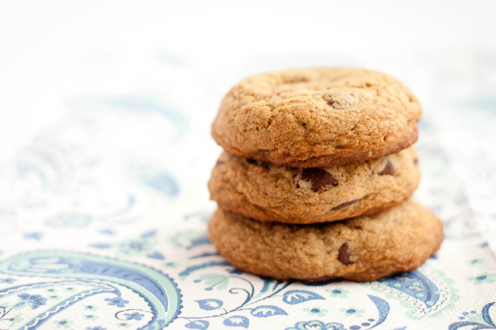 Buttered Up: Buckwheat Chocolate Chip Cookies
