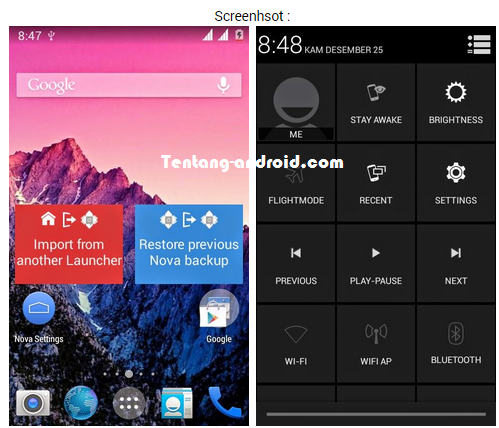 Custom ROM Advan S4A - Amzen Nexus 5 Final  Custom ROM Advan S4A - Amzen Nexus 5 Final