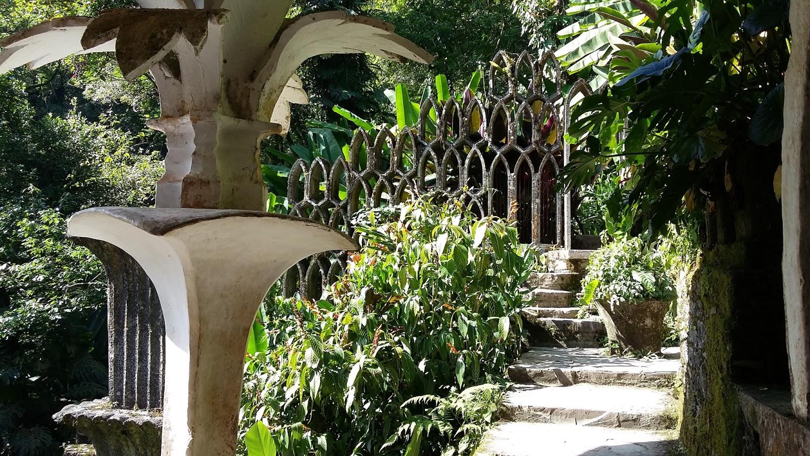 Reflexiones de un corredor solitario xilitla huahuas y for Jardin xilitla
