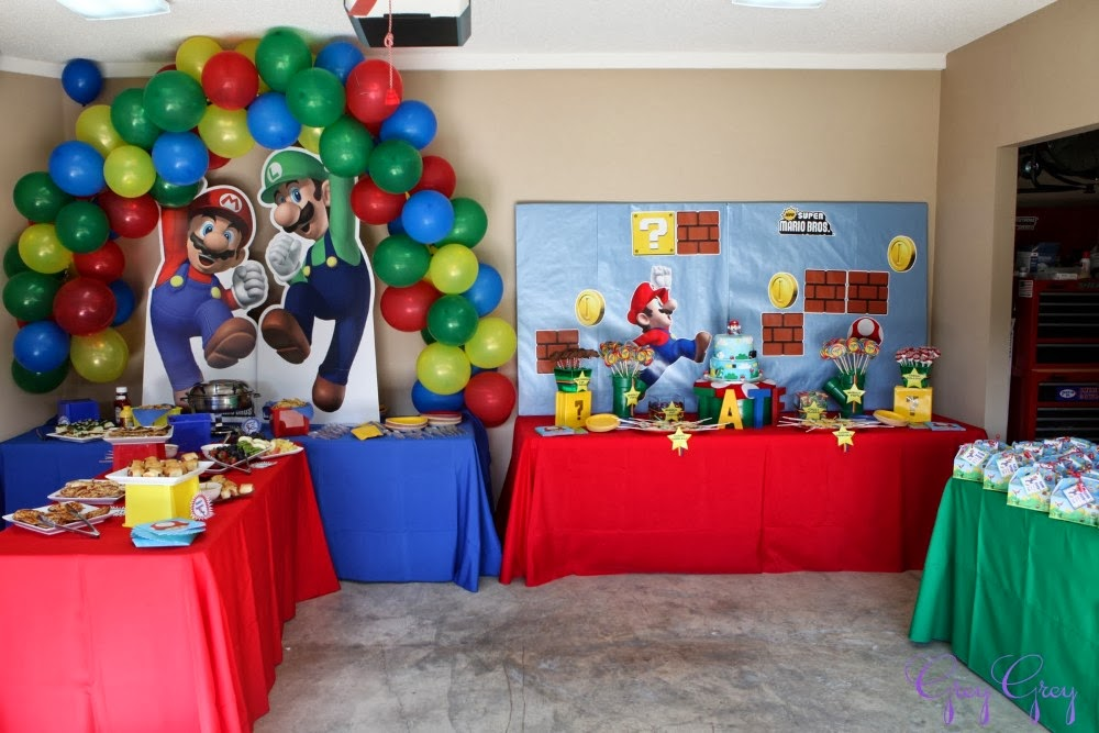 Birthday party concept memory lane for Decoration ideas 7th birthday party