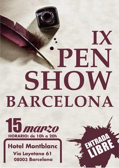 Pen Show Barcelona 2014