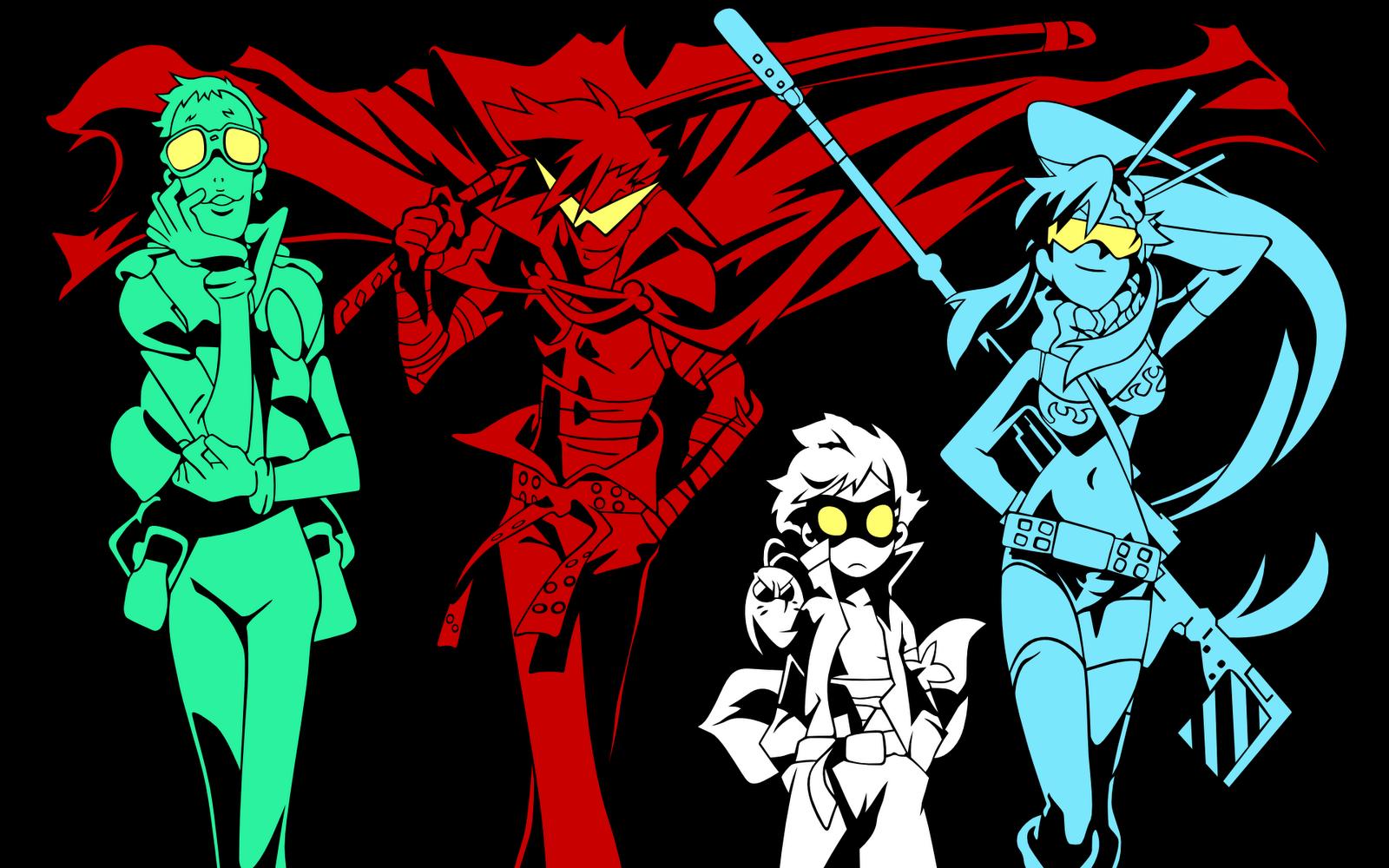 Excellent anime wallpapers: Gurren Lagann  Excellent anime...