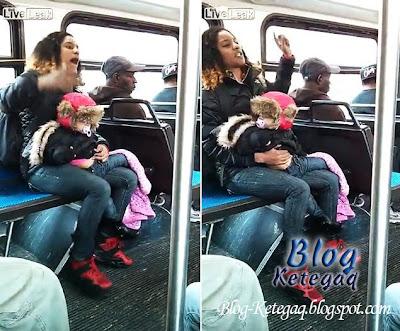 ibu dalam bas