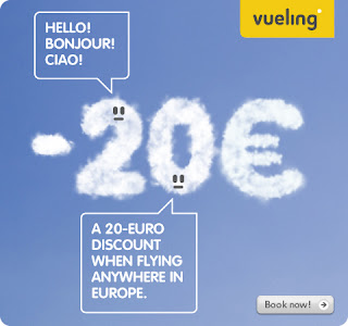 Travel around Spain - 20 EUR discount to fly to Spain with Vueling