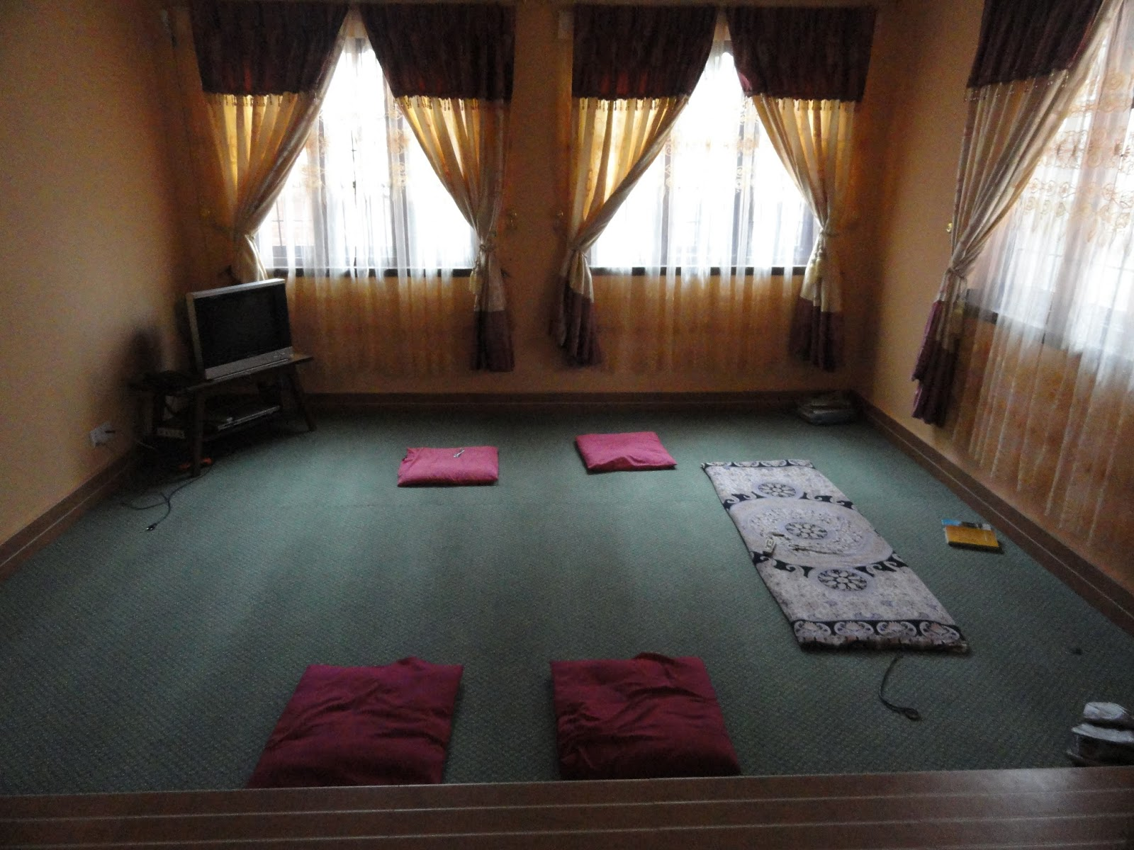 No Furniture Living Room Expanding My Corner Mero Ghar