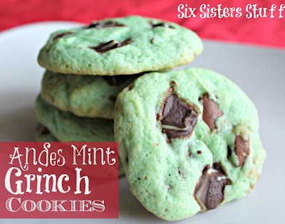 grinch cookies (a christmas tradition!)