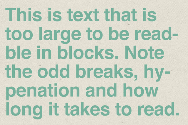 The Importance of Designing for Readability