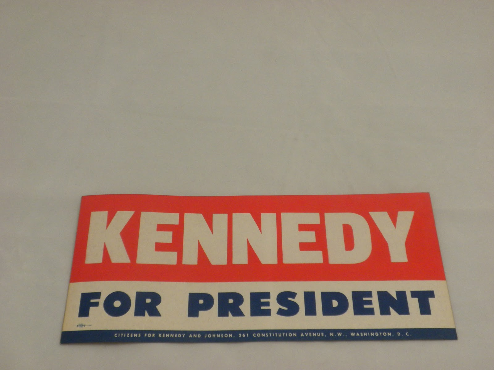Bumper sticker up for auction