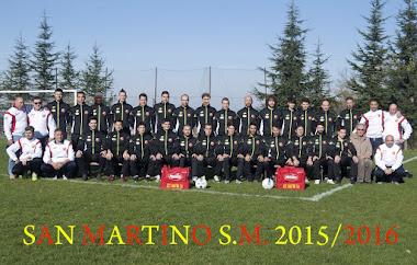 La rosa dell'ASD San Martino 2015-16