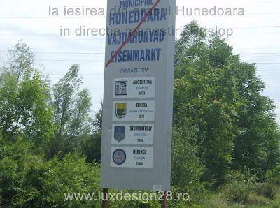 Iesirea din orasul Hunedoara catre orasul Hateg si manastirea Prislop