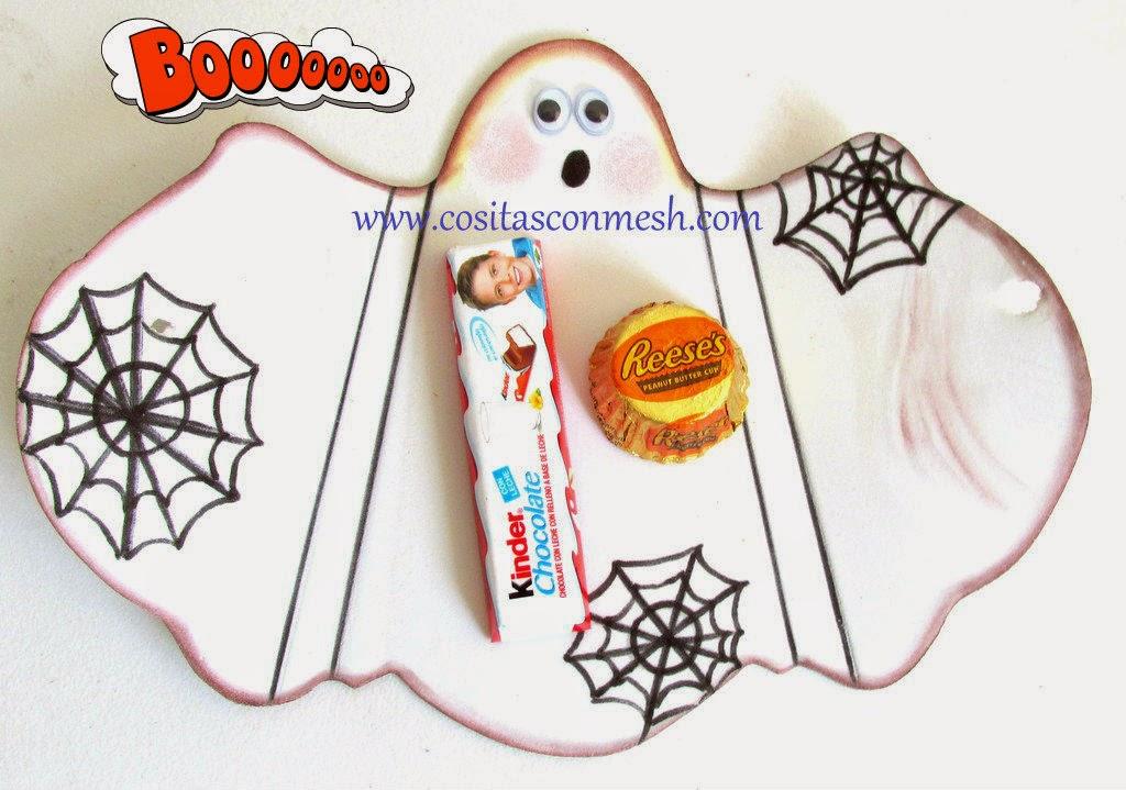 6 Manualidades fáciles para niños en halloween ~ cositasconmesh