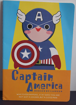 Cahier Captaine America Aliexpress