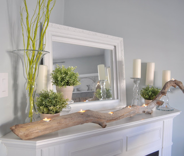 Gorgeous Spring Mantels