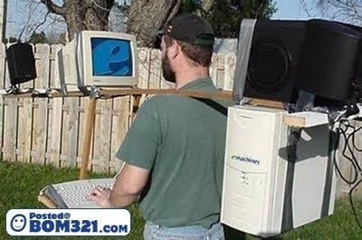 Bila Dah Gila Komputer Dan Internet