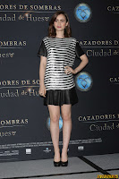 "Lily Collins - ""The Mortal Instruments: City of Bones"" Photocall in Mexico, August 26, 2013"