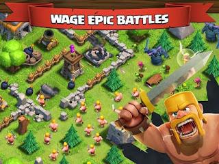 Clash of Clans apk epic battle