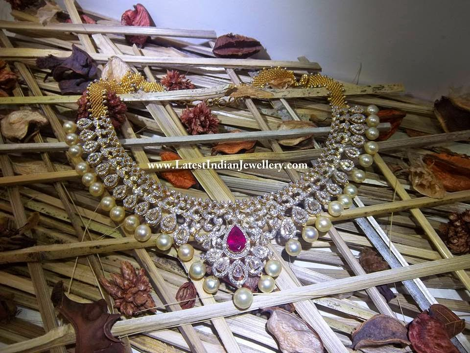 Marvelous Indian Diamond Necklace