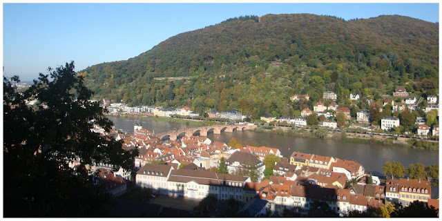 Heidelberg vista do castelo