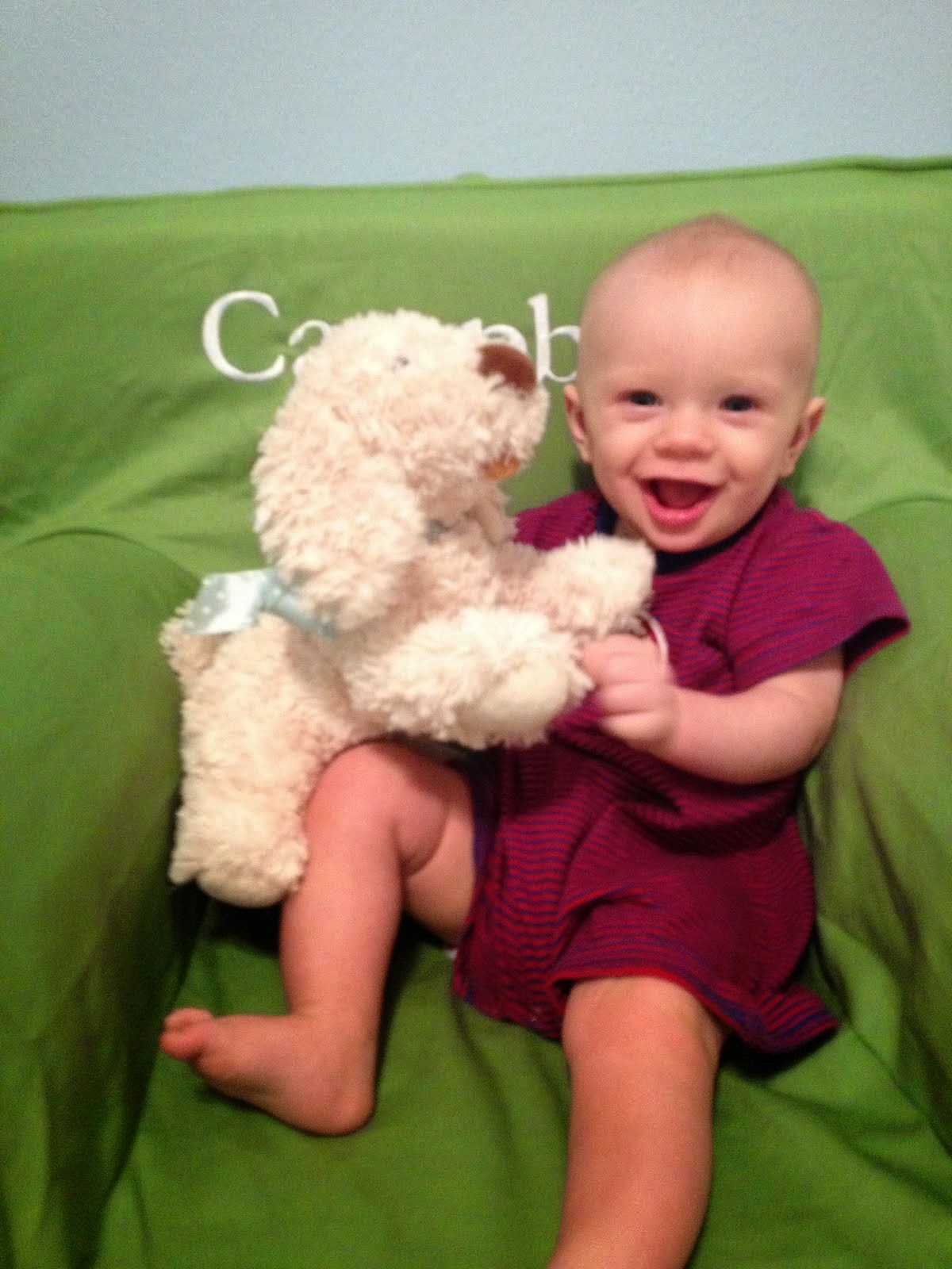 Campbell at 6 months