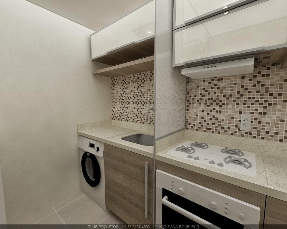 decoracao cozinha e area de servico integradas:Lar Meu Doce Cantinho : Cozinha e Lavanderia Integrada