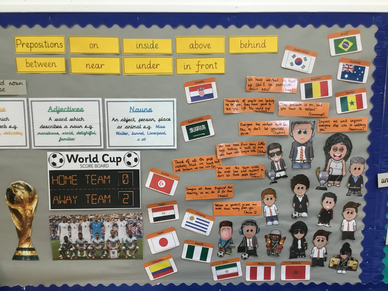 sent from my ipadthis week we have started our new writing project which has involved us becoming football managers we have created our own avatars