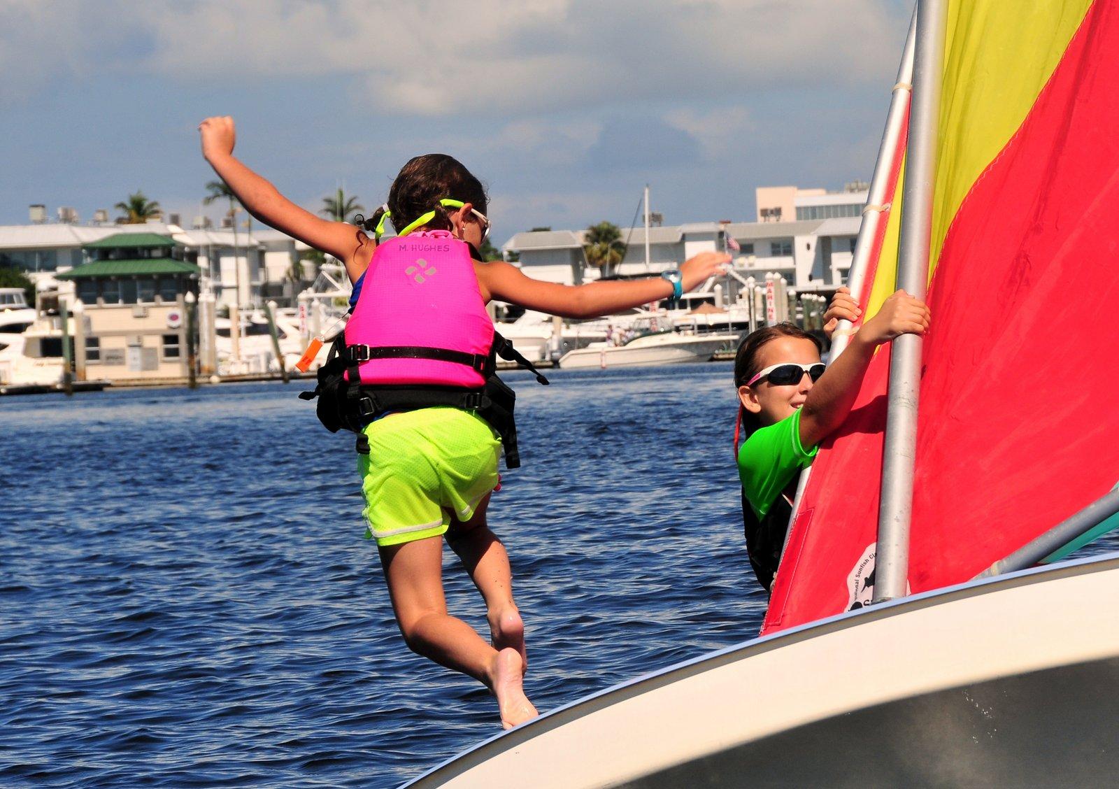 Naples Community Sailing Center Summer Camp 2017